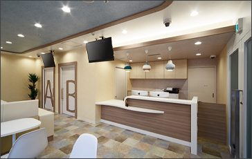 A design office specialized for clinics
